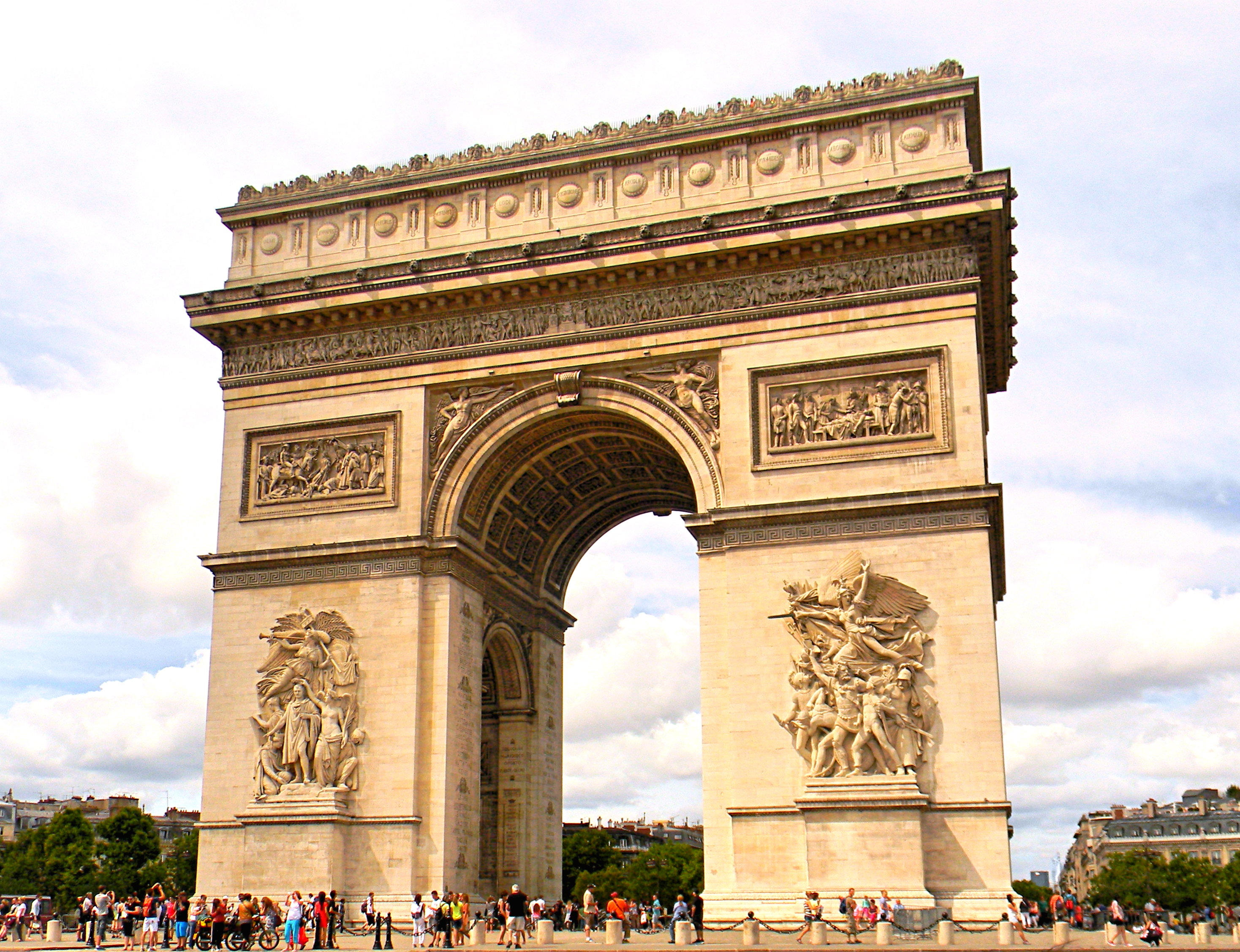 Arc De Triomphe Paris: Travelbyjaed