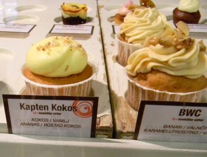 Cupcakes at Cupcake STHLM