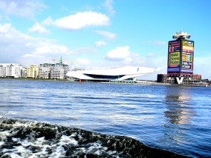 View of the Eye Film Institute, Amsterdam