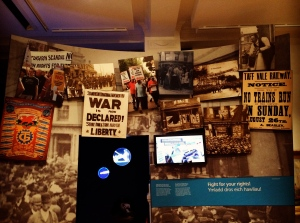 Cardiff History Museum exhibition