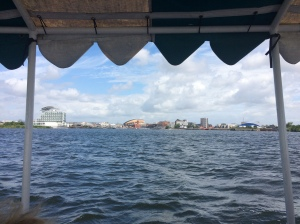 view from the daffodil boat