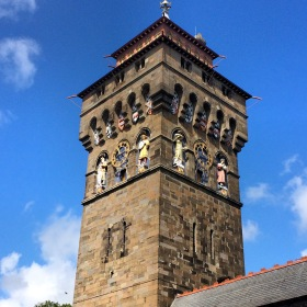 Cardiff Castle clock tower