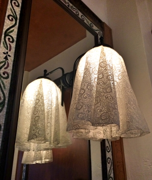 Lights at Le Petit Josselin