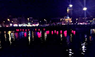 Lights on Lake IJ