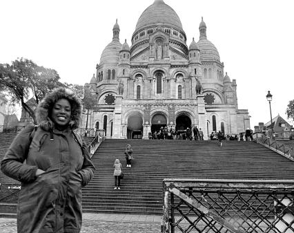 Me at Sacre Coeur