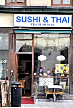 Sushi and Thai Stockholm
