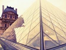 The Louvre Pyramid, Paris