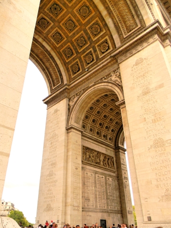 Under Arc De Triomphe, Paris