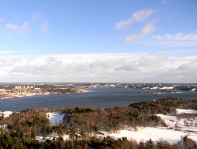 View from Kaknastornet, Stockholm