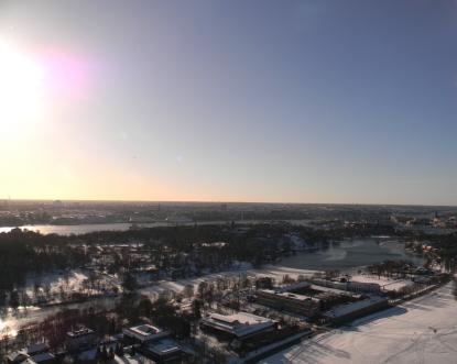 View from Kaknastornet