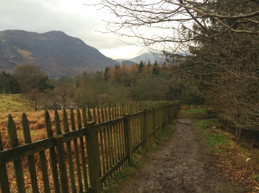 Aira Force walking path, Lake District
