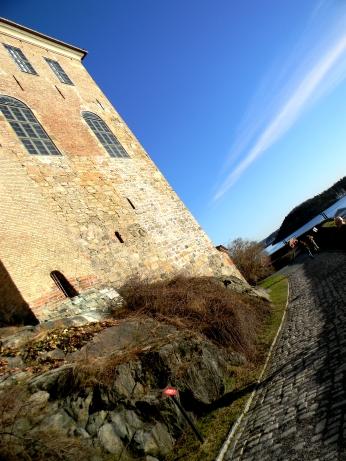 Side of Akershus Castle, Oslo