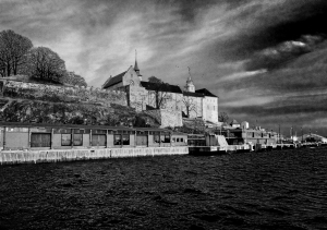 Akershus Fortress from Oslo Harbour