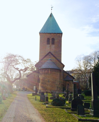 Back of Old Aker Church, Oslo
