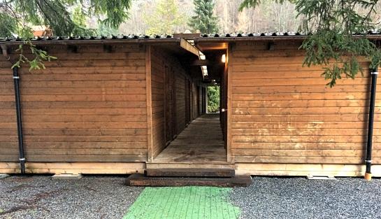 Cabins at Schutzenbach Camping & Backpackers Lauterbrunnen, Switzerland