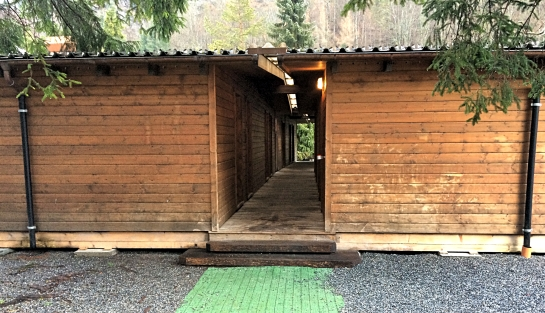 Cabins at Schutzenbach Camping & Backpackers Lauterbrunnen, Switzerland