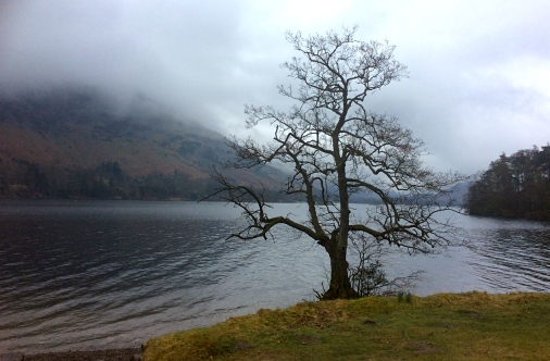 Fog over Ullswater, Lake District