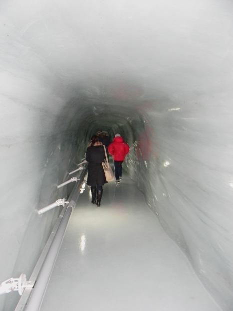 Ice tunnel, Jungfrau Switzerland