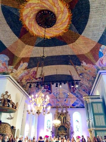 Inside Oslo Catherdral - Oslo Domkirke
