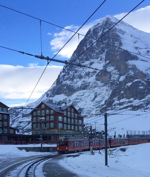 Jungfrau train, Switzerland