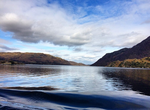Making waves on the Ullswater Steamer