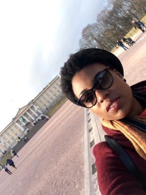 Me at The Royal Palace/ Kongehuset, Oslo
