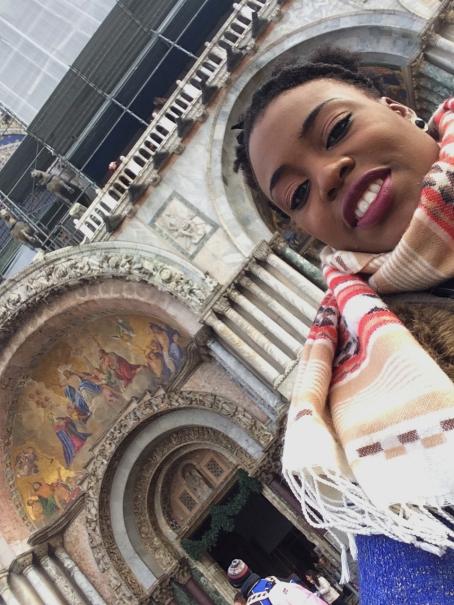 Me at St Marks Basilica, Venice
