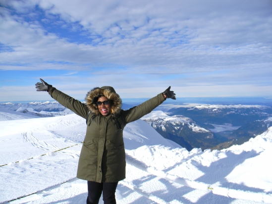 Me on Jungfrau, Switzerland
