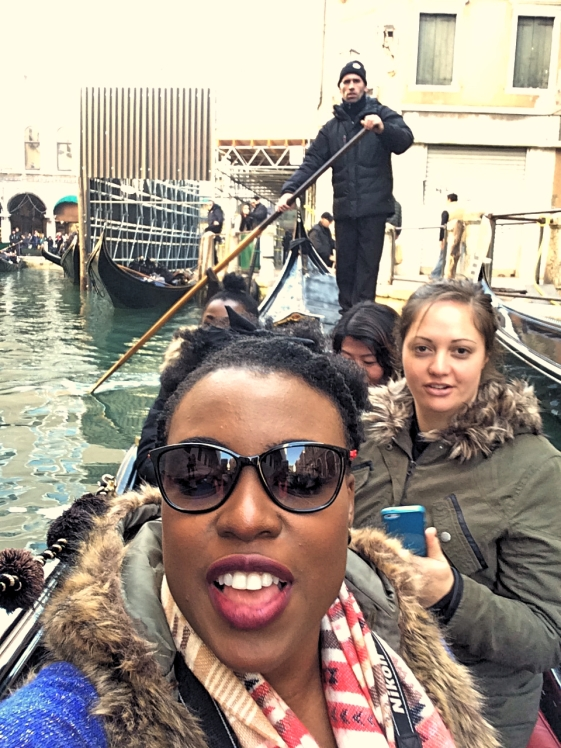 Me on the Gondola, Venice