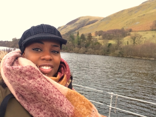 Me on the Ullswater Steamer, Lake District
