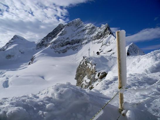 View from Jungfrau, Switzerland