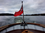 On the Ullswater Steamer, Lake District