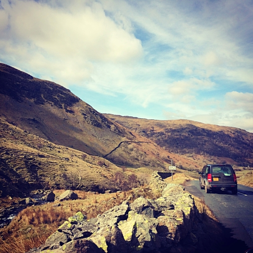 On the way to Glenridding, Lake District