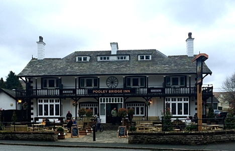 Pooley Bridge Inn, Pooley Bridge, Lake District