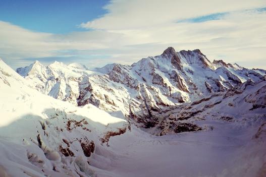 Snowey Mountain, Switzerland