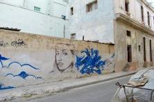 Street art Malecon, Havana, Cuba