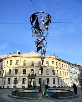 Street monument, Oslo