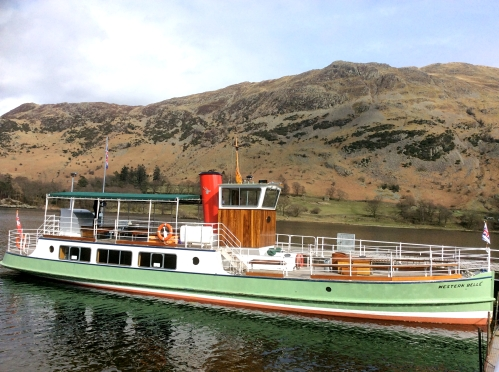 Ullswater Steamer, Lake District