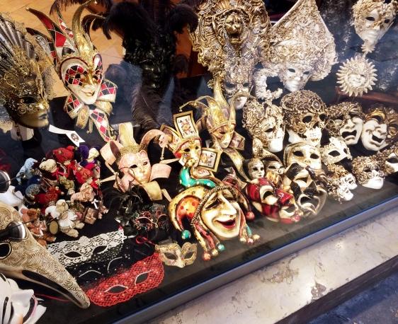 Venetian masks, Venice