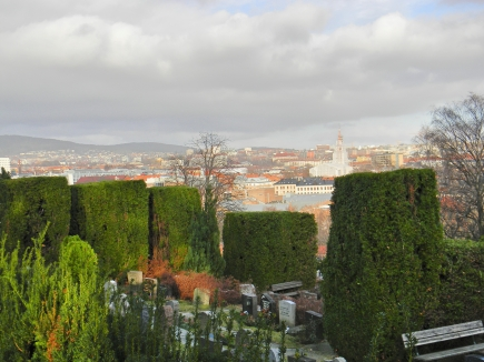 View from Old Aker Church, Oslo
