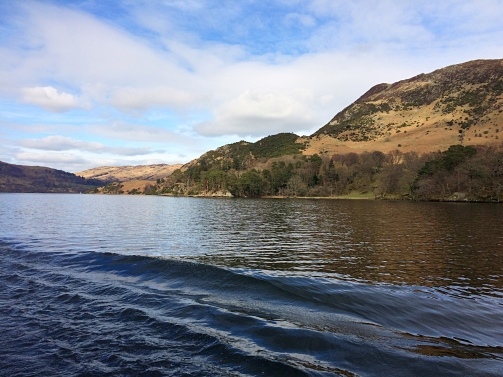 View from Ullswater Steamer, Lake District