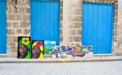 Art, Havana Vieja, Cuba