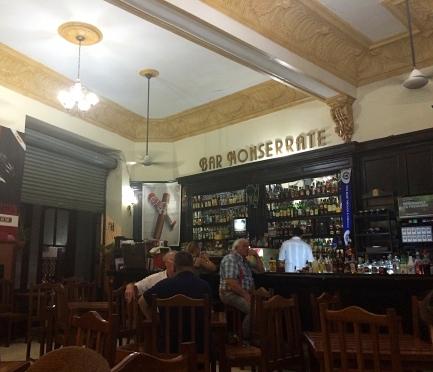 Bar Monserrate, Havana, Cuba