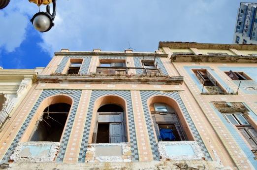Building along Malecon, Havana, Cuba