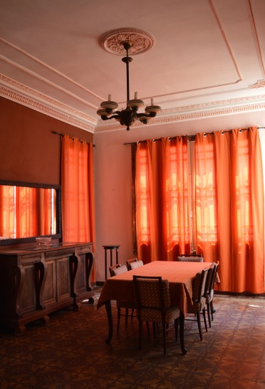 Dinning room of Ada Colonial, Havana, Cuba