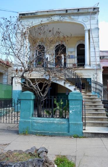 House in Vedado, Havana, Cuba