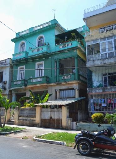 Houses in Vedado, Havana, Cuba