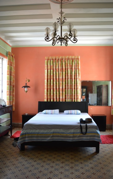 The room we stayed in at Ada Colonial, Havana, Cuba