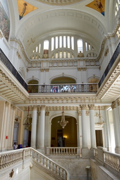 The inside of Museo de la Revolucion, Havana, Cuba