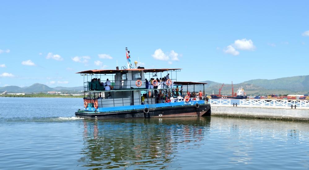 Boat at Malecon, Santiago de Cuba, Cuba.jpg